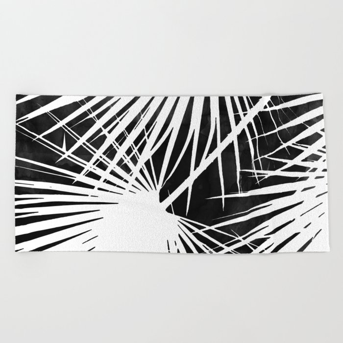 Desaturated Palm Beach Towel