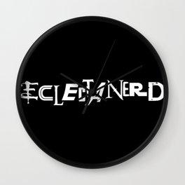 Eclectanerd Wall Clock