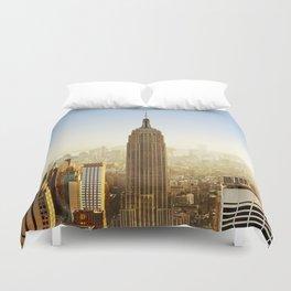New York City Sunshine Duvet Cover
