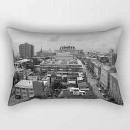 Black & White Baltimore Rectangular Pillow