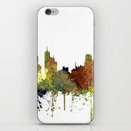 Memphis, Tennessee Skyline - Safari Buff iPhone Skin