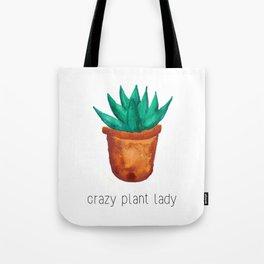 Crazy plant lady 3 Tote Bag