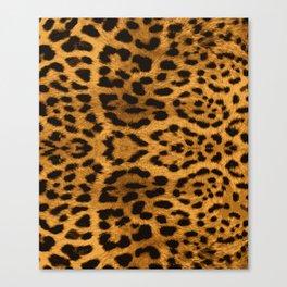 Baesic Leopard Print Canvas Print
