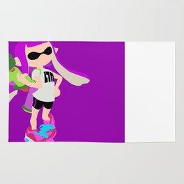 Inkling Girl (Purple) - Splatoon Rug