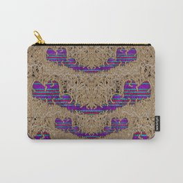 Pearl lace and smiles in peacock style Carry-All Pouch
