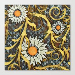 The Golds of Autumn Canvas Print