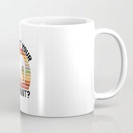Can I Pet Your Elephant  TShirt Pet Shirt Pets Gift Idea  Coffee Mug