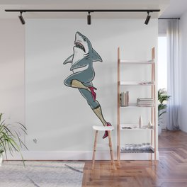 Femme Shark Wall Mural