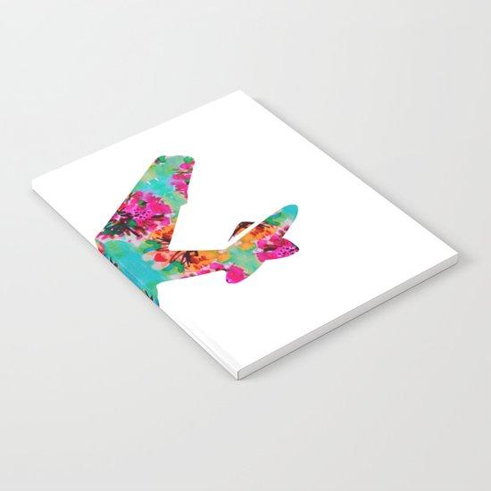 avion fleur 5 Notebook