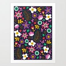 Sweet Viola Art Print