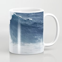 Wave Surfer Indigo Coffee Mug