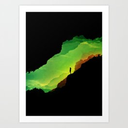 Toxic ISOLATION Art Print