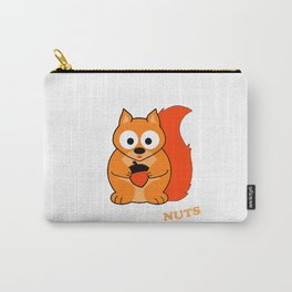 Perceptive Squirrel Carry-All Pouch