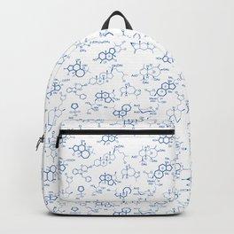 Blue Molecules Backpack