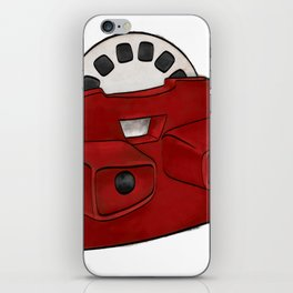 Viewmaster on White Background iPhone Skin