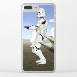 War Stars: Empire Strike Clear iPhone Case