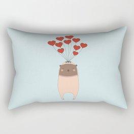 BEAR WITH LOVE Rectangular Pillow