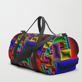 ColorBlox - Hammered Duffle Bag