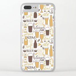 For beer lovers Clear iPhone Case