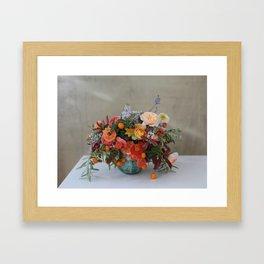 Flower Design 6 Framed Art Print
