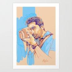 Digital Drawing #25 Art Print