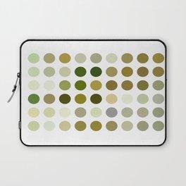 Pale Yellow Poinsettia 1 Dots Laptop Sleeve