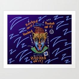 Dope Creates Monsters Raw Art Print