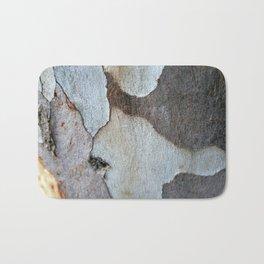Peeling Bark Of A Eucalyptus Gum Tree Bath Mat