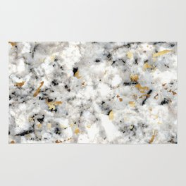 Classic Marble with Gold Specks Rug