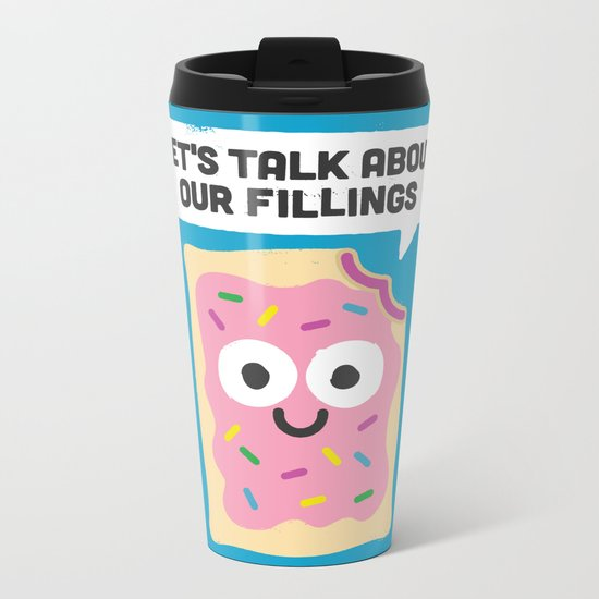 Tart Therapy Metal Travel Mug