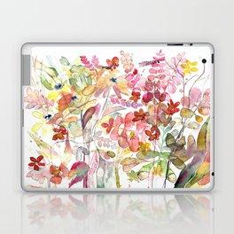 Wild flowers IV Laptop & iPad Skin