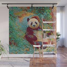 Popular Animals - Panda 1 Wall Mural
