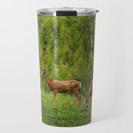 Wapiti In Yellowstone N P Travel Mug