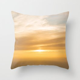 Touching Upon the Elements Throw Pillow