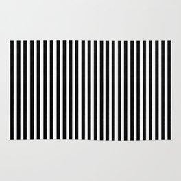 Home Decor Striped Black and White Rug