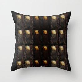 Skull Spooky Graves Throw Pillow