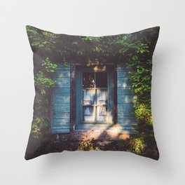 September - Landscape and Nature Photography Throw Pillow