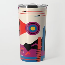 NASA Retro Space Travel Poster #9 Mars Travel Mug