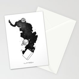 The magic of knowledge. Stationery Cards