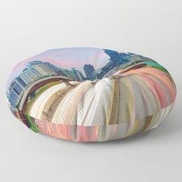 Chicago 02 - USA Floor Pillow