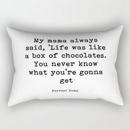 My mama always said Rectangular Pillow