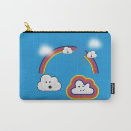 The Great Rainbow Cloud Robbery Carry-All Pouch