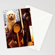 My dear Poodle Stationery Cards