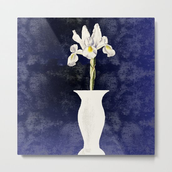 The sweetness in an Iris Metal Print