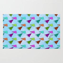 Paper Fliers Rug