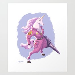 Lance Corporal Daphne Sparkle Art Print