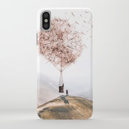 Flying Dandelion iPhone Case