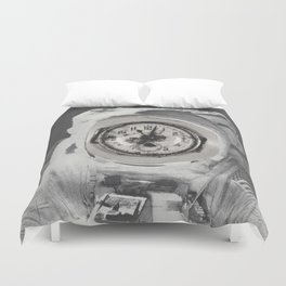 Eleventh Hour - collage Duvet Cover