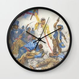 Liberty Leading the People Wall Clock