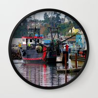 raven Wall Clocks featuring Raven by Jeffrey J. Irwin